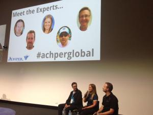 Feature presentation at ACHPER Conference