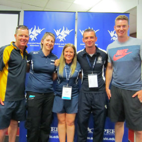 Team #PhysEd at the ACHPER Conference